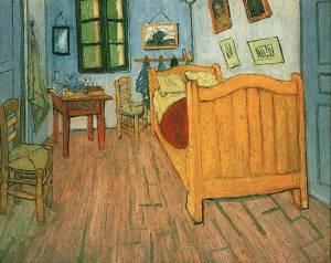 Quarto em Arles Van Gogh conto